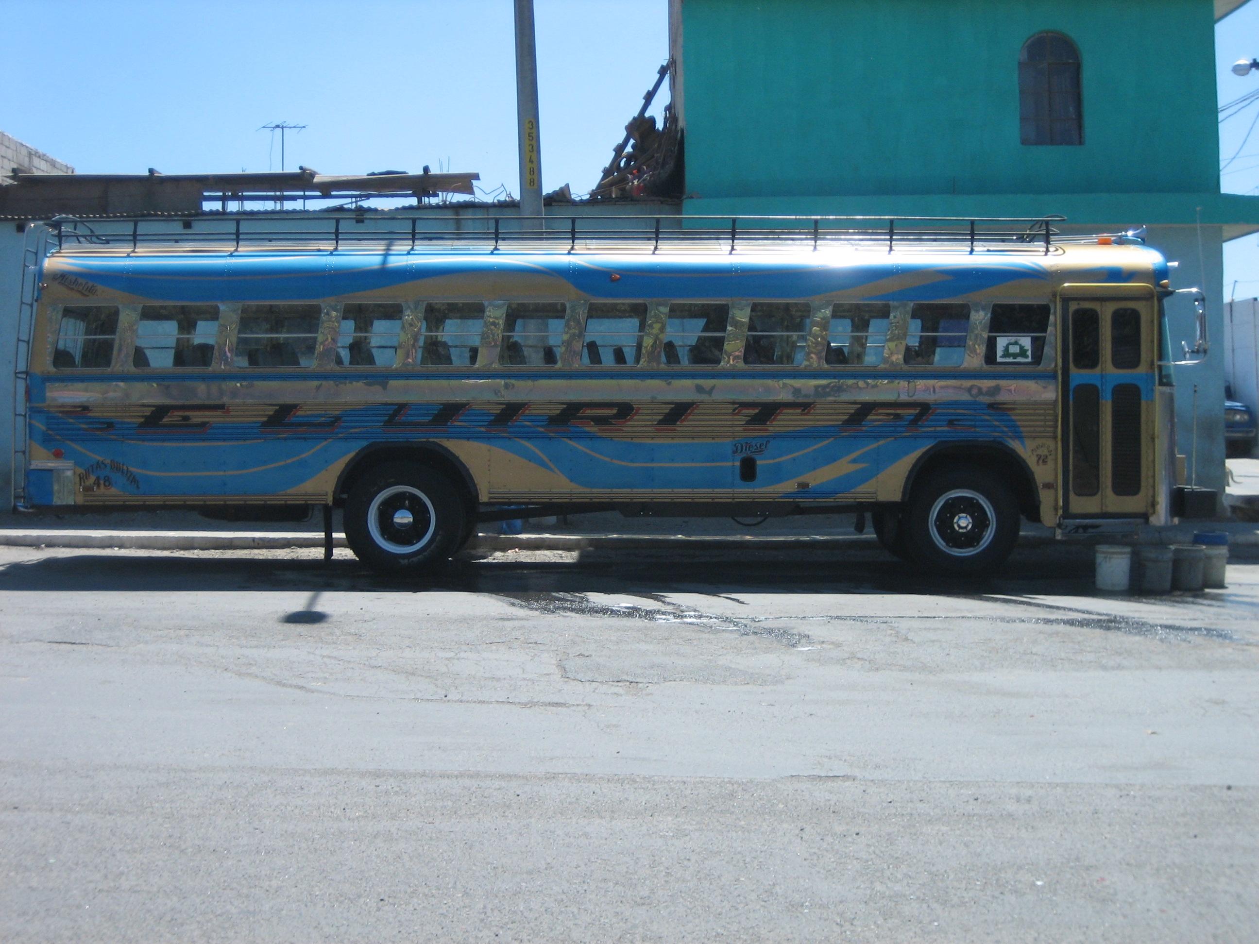 Guatemala City bus