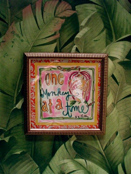 Lilly Pulitzer Jungle room