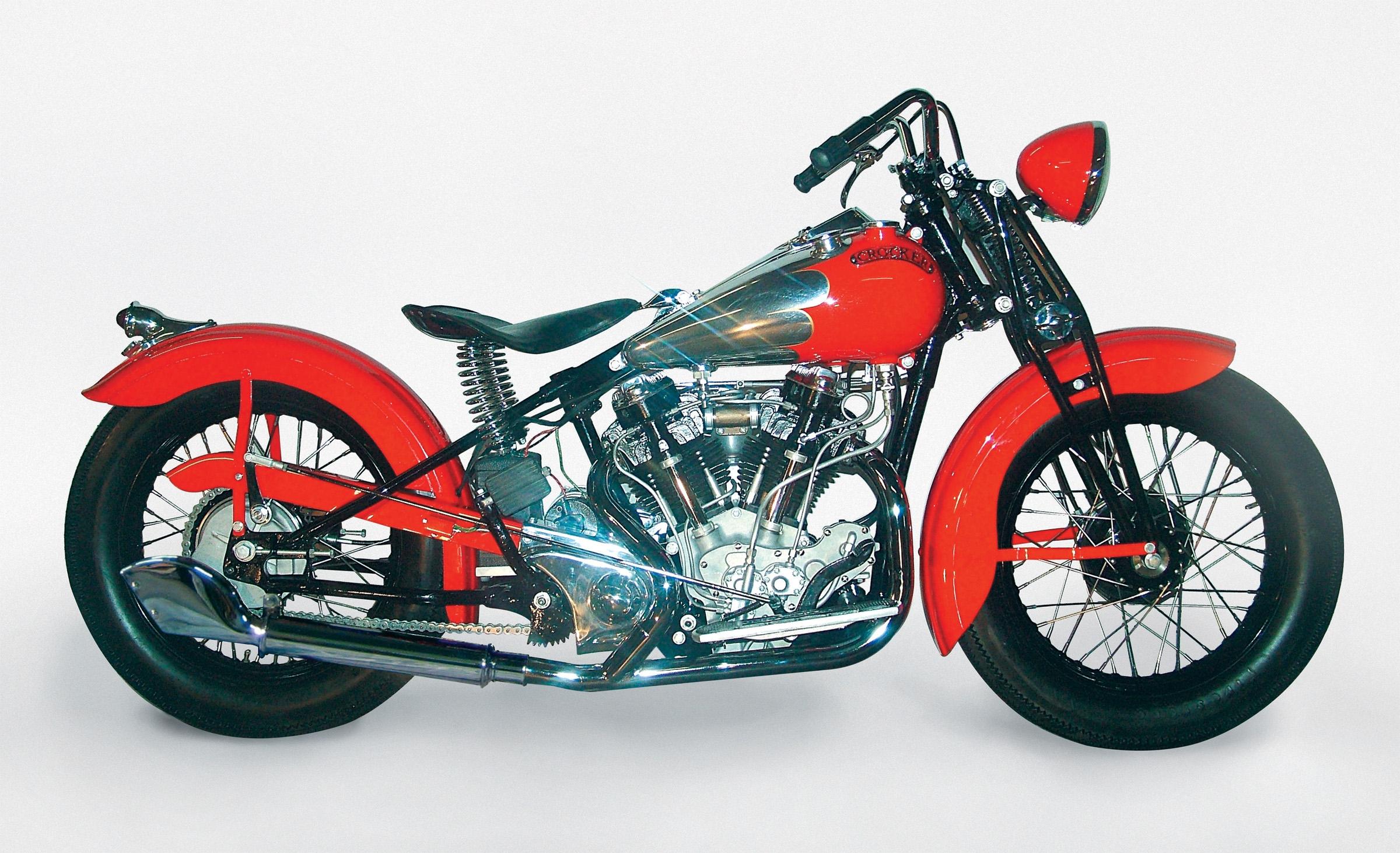 New Crocker Big Tank motorcycle built per the original 1938 factory specifications.