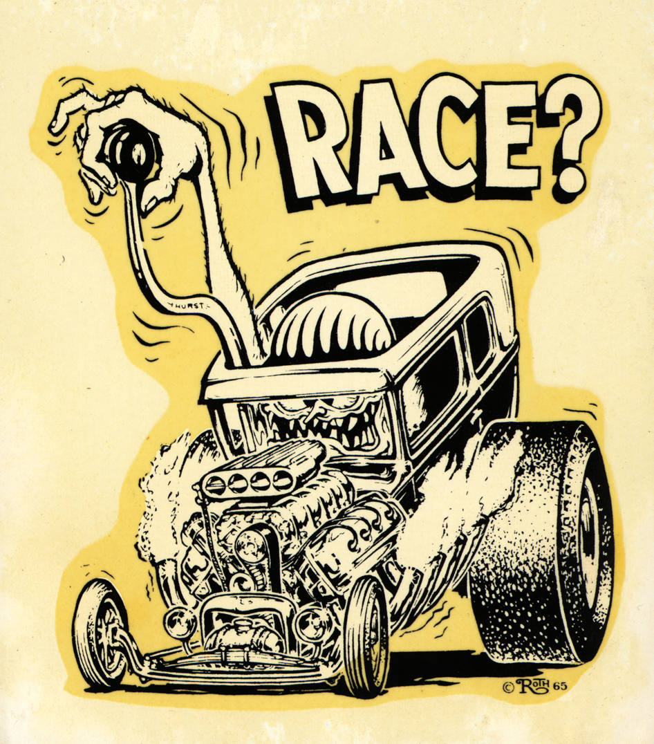 "Ed ""Big Daddy"" Roth race? decal"