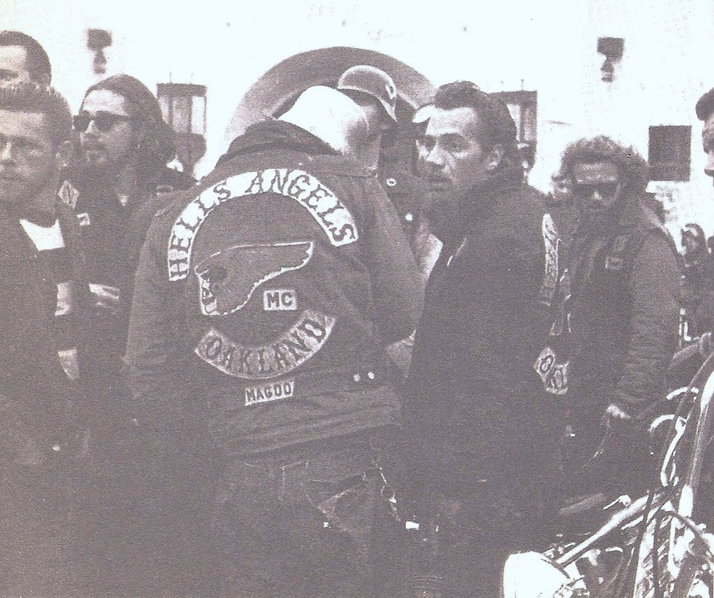 Sonny Barger of the Oakland Hells Angels Motorcycle Club