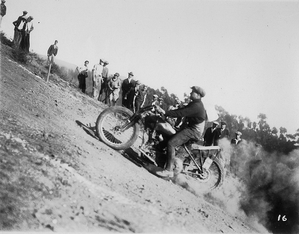 Indian Oakland motorcyle club
