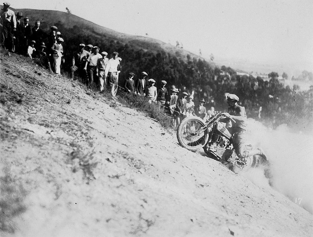Oakland motorcycle club hillclimb
