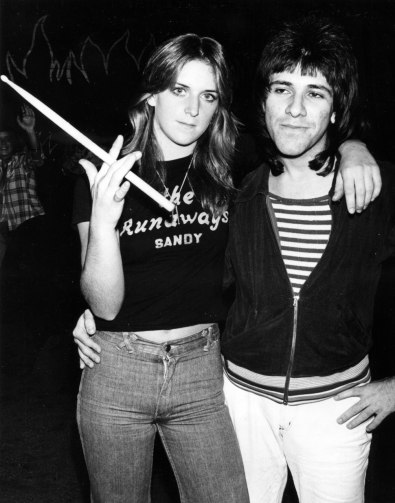 sandy the runaways girl band