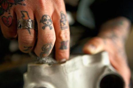 steve west silver piston hobo jewelry nickel