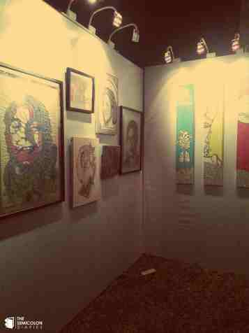 The stall of ArtLab's project - Prasad.