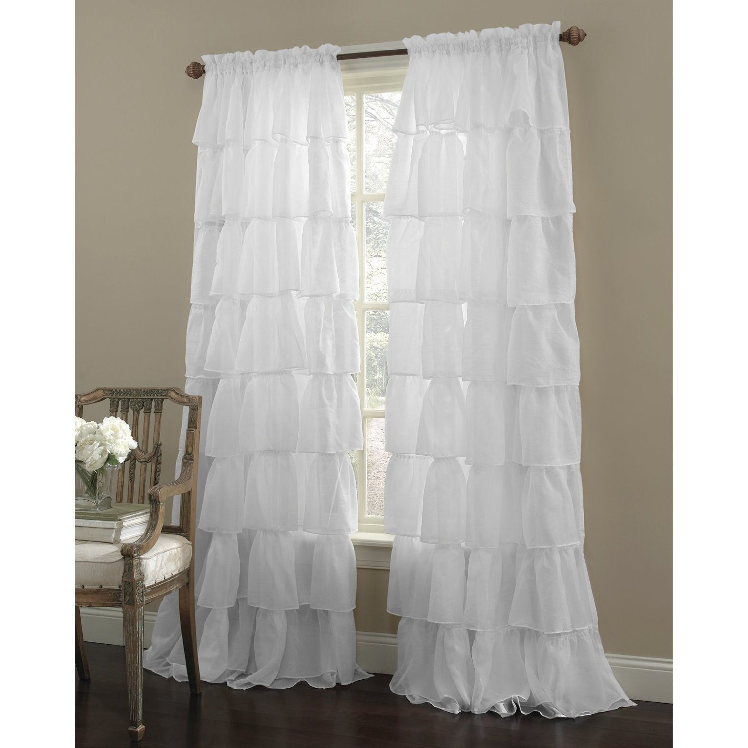99 Problems And Drop Cloth Curtains Are One
