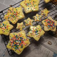 White Chocolate Cutout Cookies