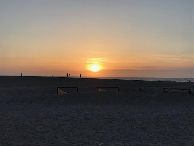 Foz sunset