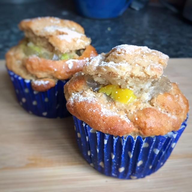 lemon and elderflower cupcakes pic