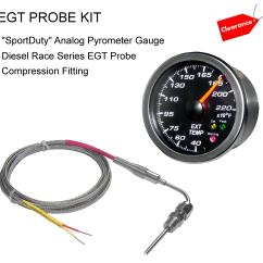 Glowshift Trans Temp Gauge Wiring Diagram Thermostat Diagrams Pyrometer Rectifier Elsavadorla