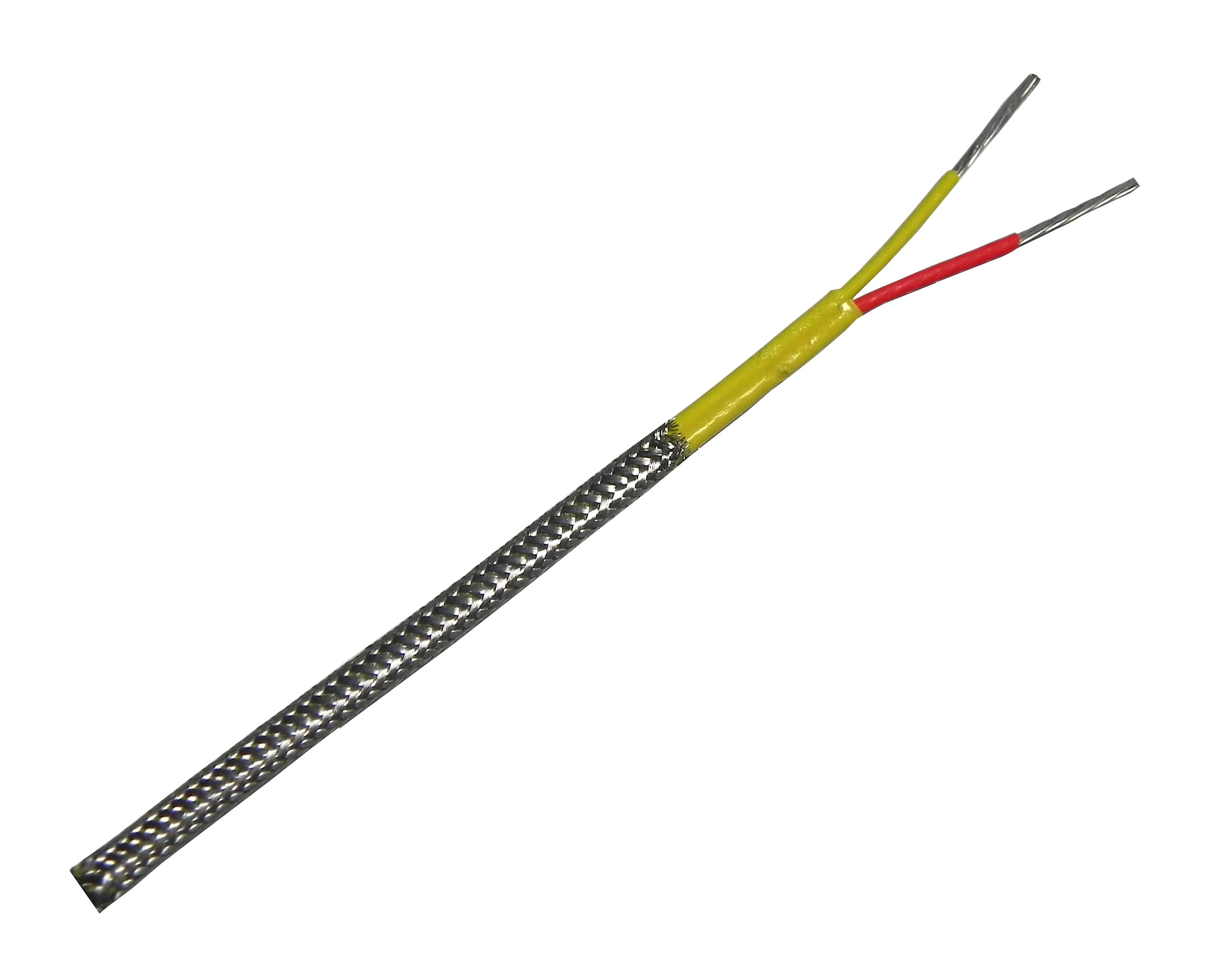 Type K Thermocouple Extension Wire With Stainless Steel