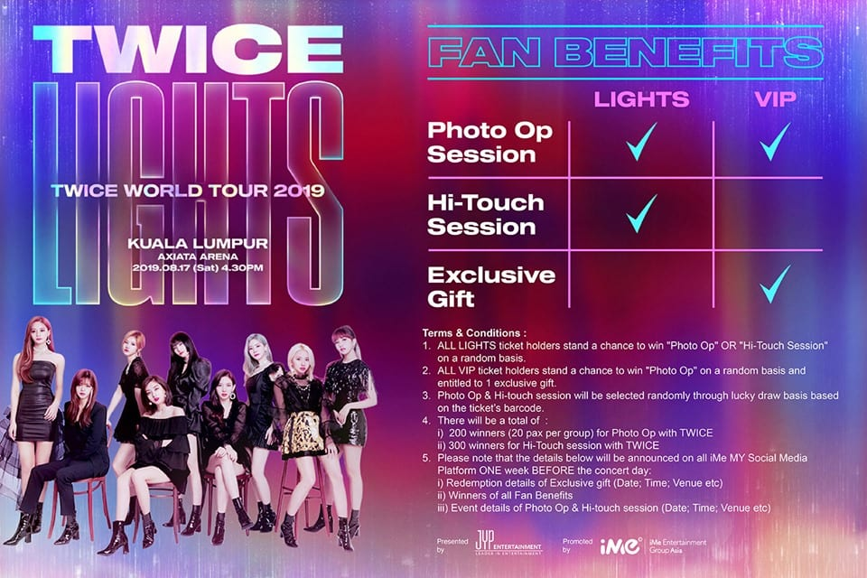 Upcoming Event Twice World Tour 2019 Twicelights In Manila