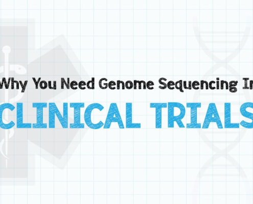 genome sequencing for clinical trials