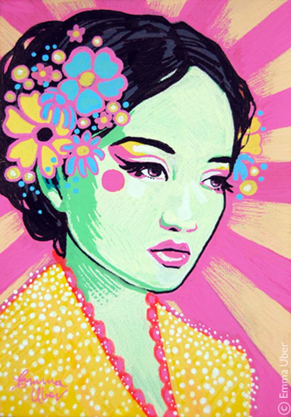 Emma Uber canvas art  These Quiet Sounds
