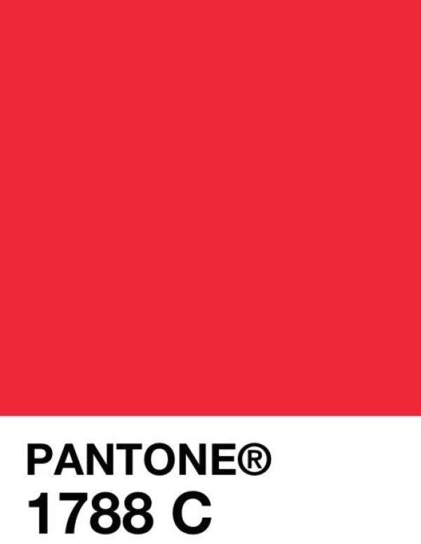 Pantone red stylopedia