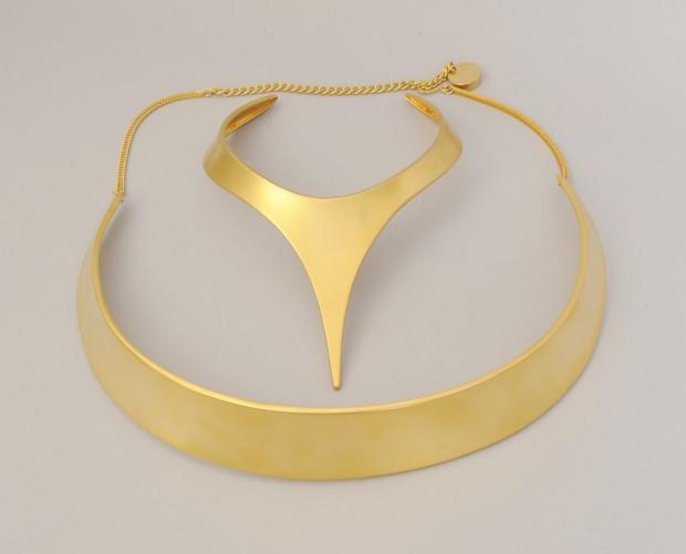 Donna Karan gold belt