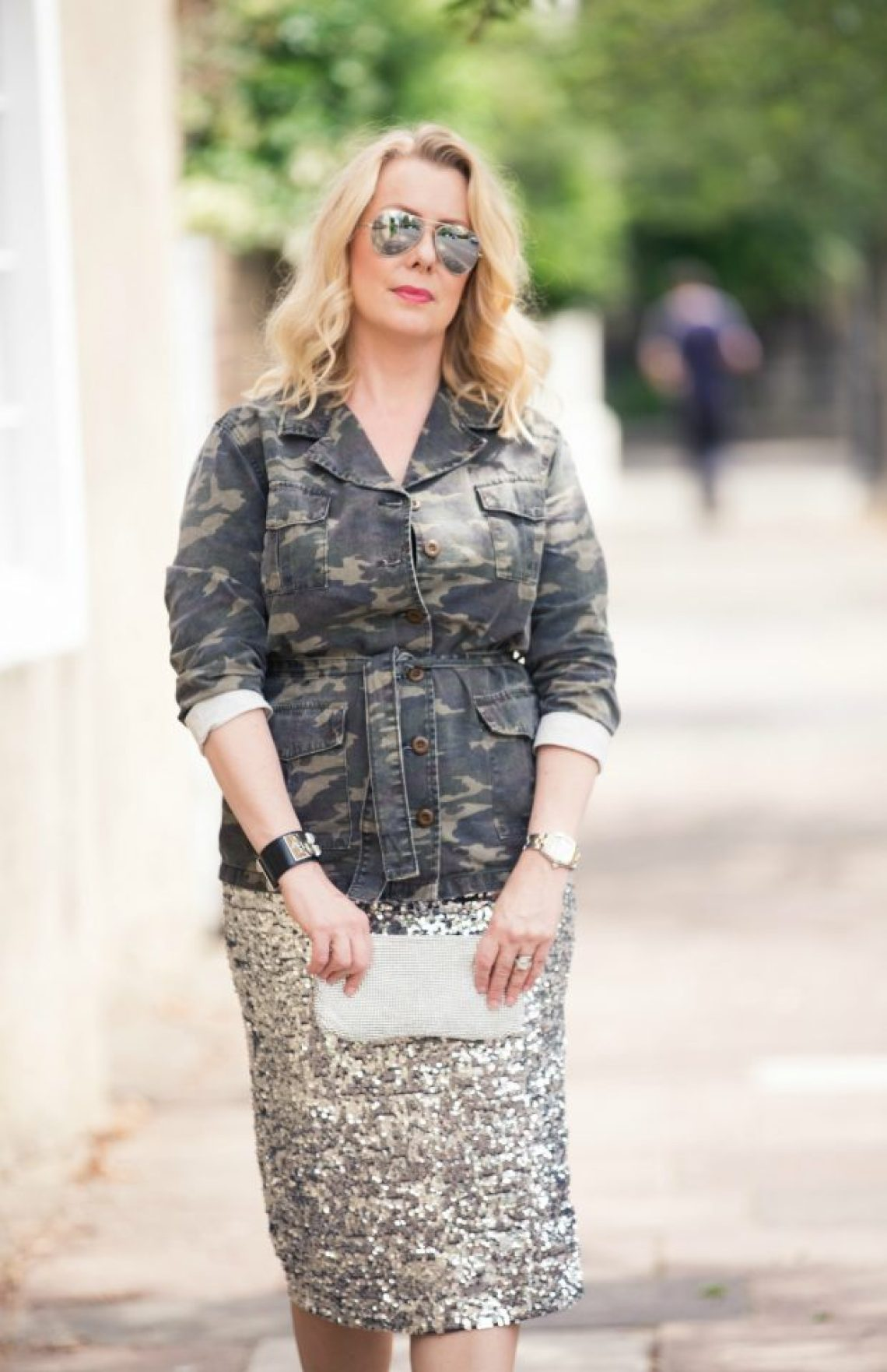 Camouflage and Sequins