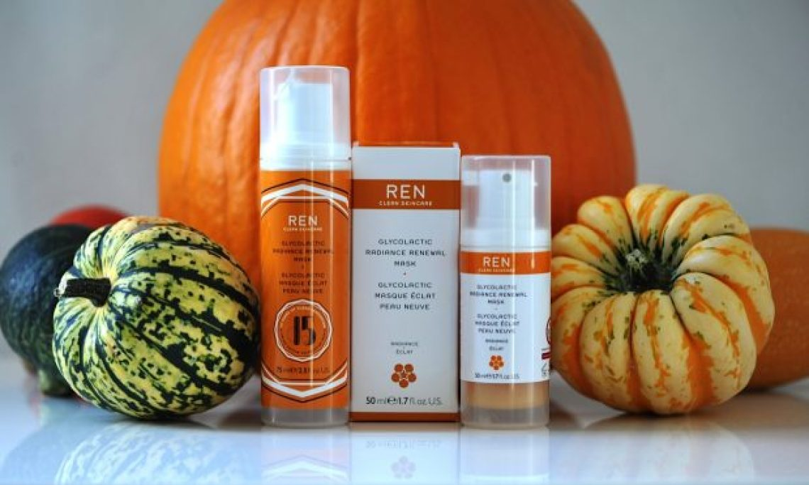 Ren glycolic renewal mask review