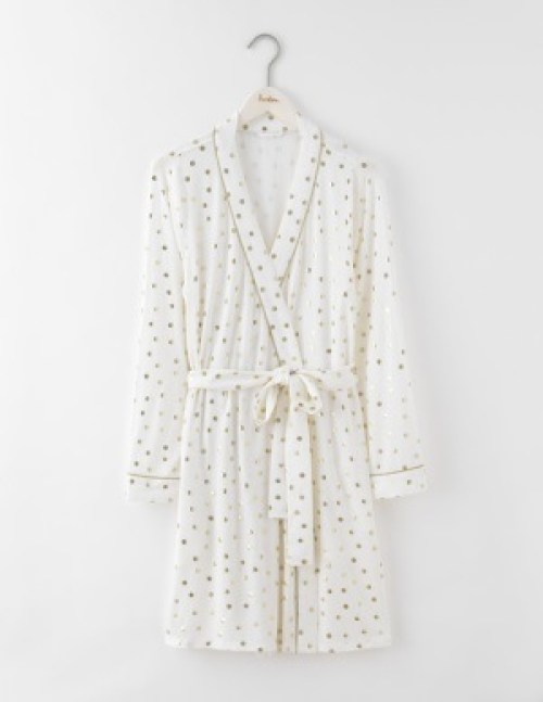 holiday dressing gown