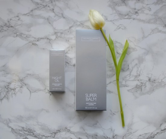 The White Company oil and balm
