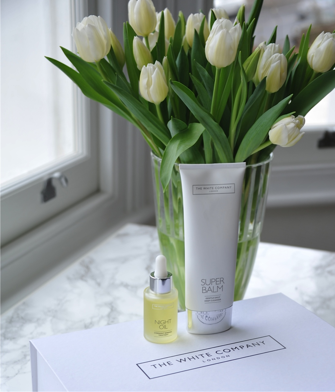 The White Company skincare products