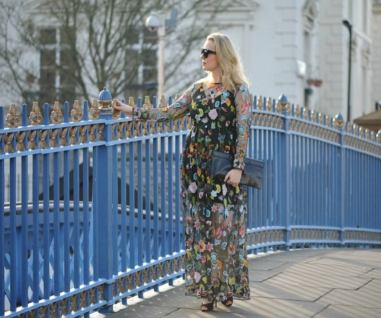 bridge and florals