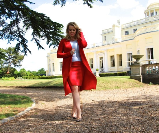 Stoke Park and Winser London Red Soft Suit