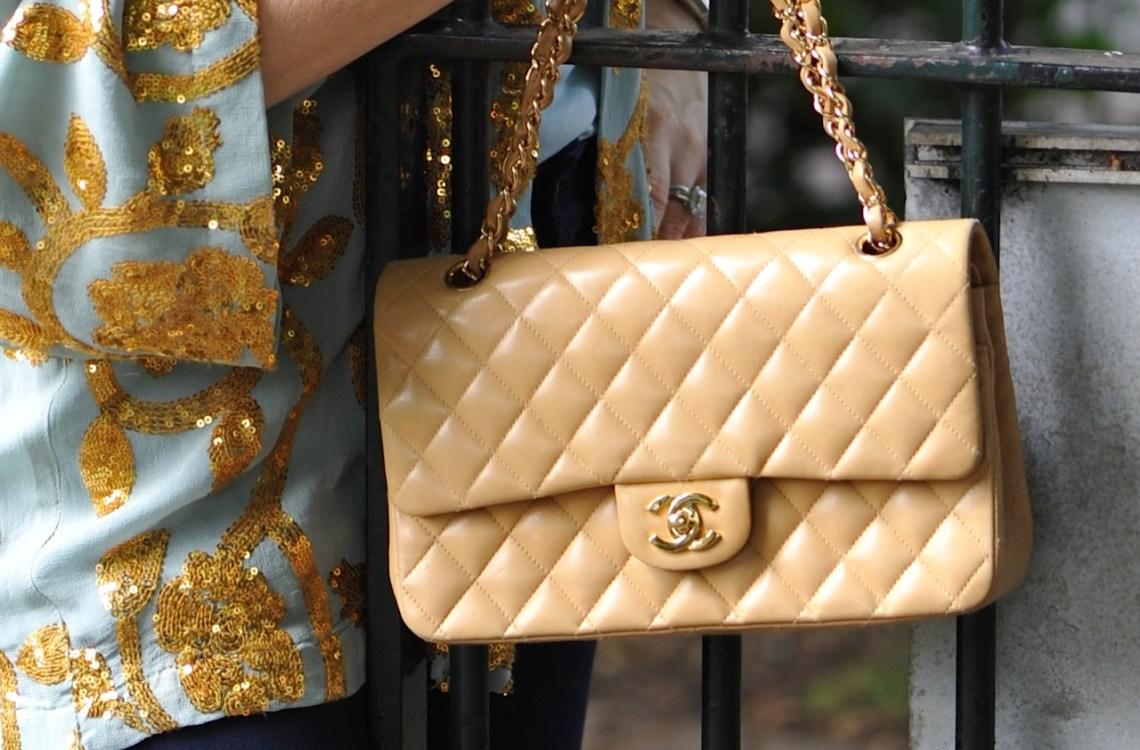 Chanel 2.55 golden bag