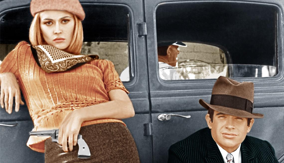 Faye Dunaway beret