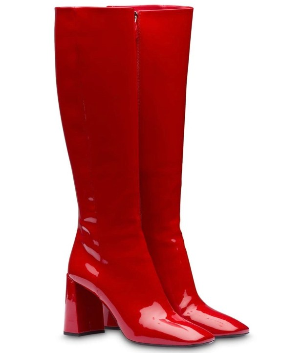 Prada-Red-Boots