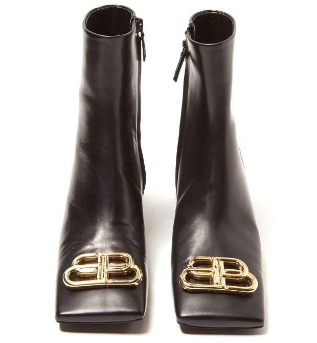 Balenciaga square toes