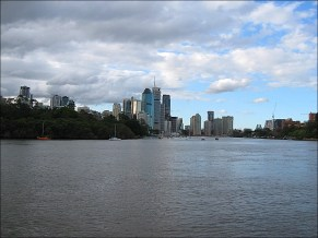 The beautiful city of Brisbane ... my new home
