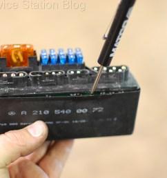 disassembling module mercedes slk230 k40 relay  [ 2256 x 1496 Pixel ]