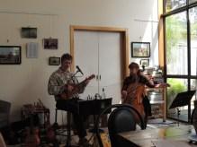 Shedfest Bromfield Winery duet