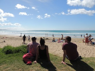 Relaxing in Lorne