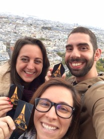 Lisa, Anna & Anthony @ Eiffel Tower