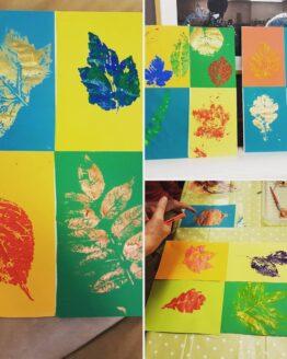 leaf print kit ideas