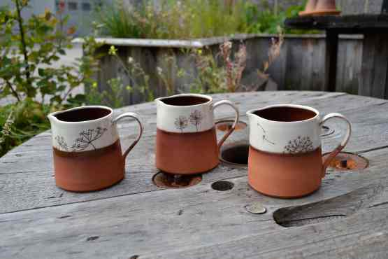 Wendy Calder Ceramic Milk Jugs Main