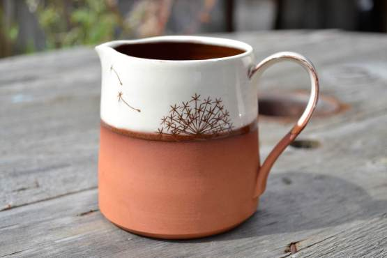 Wendy Calder Alluim Ceramic Milk Jug