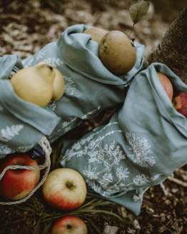 linen produce bags side on