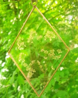 diamond copper cow parsley frame