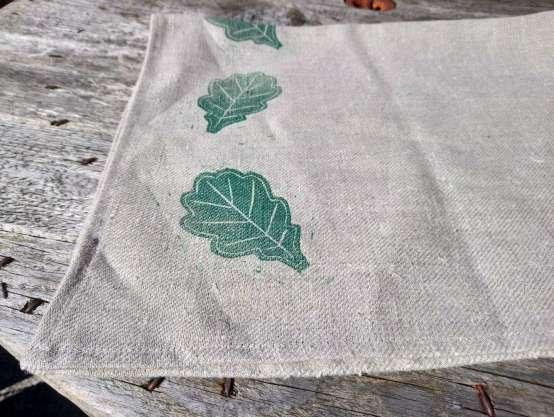 oak tea towel
