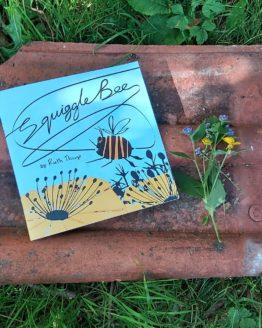 squiggle bee garden shot