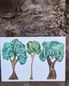 trees seed card