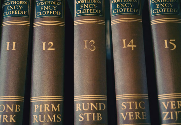 Numbers on old books