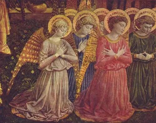 Angels communicating