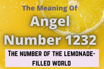 angel number 1232 meaning
