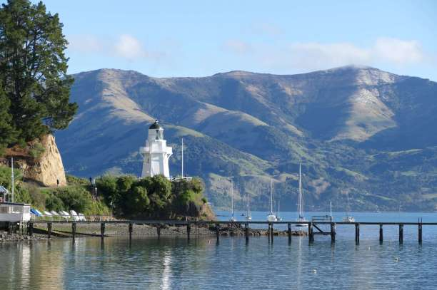 Akaroa on a perfect day