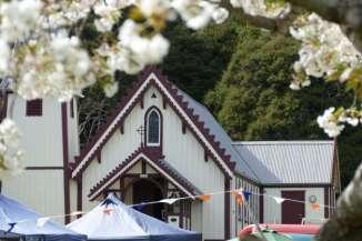 Akaroa Farmers Market at the St Patrick's Church